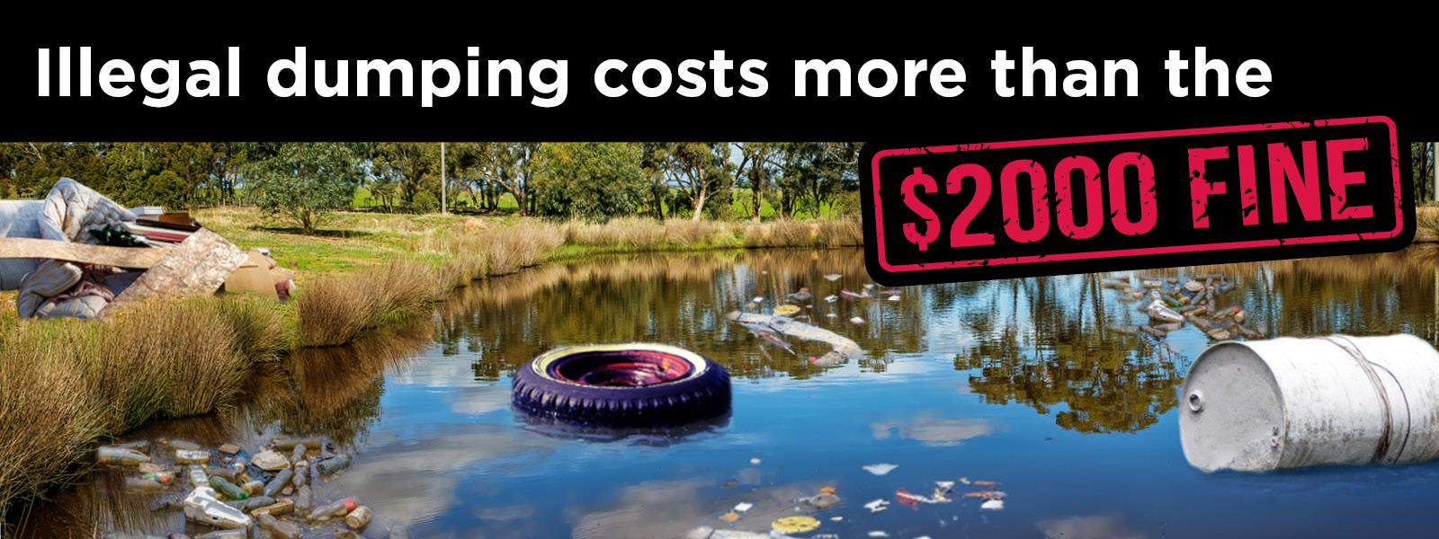 Illegal dumping in the Bundaberg Region. Know the facts.
