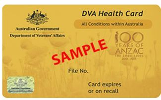 Department of veterans affairs gold card