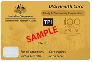 Department of veterans affairs gold card tpi