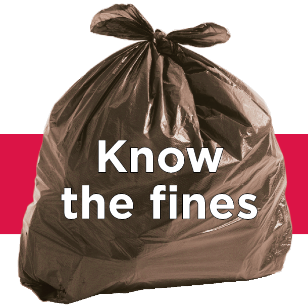 Know the fines for Illegal Dumping in the Bundaberg Region.