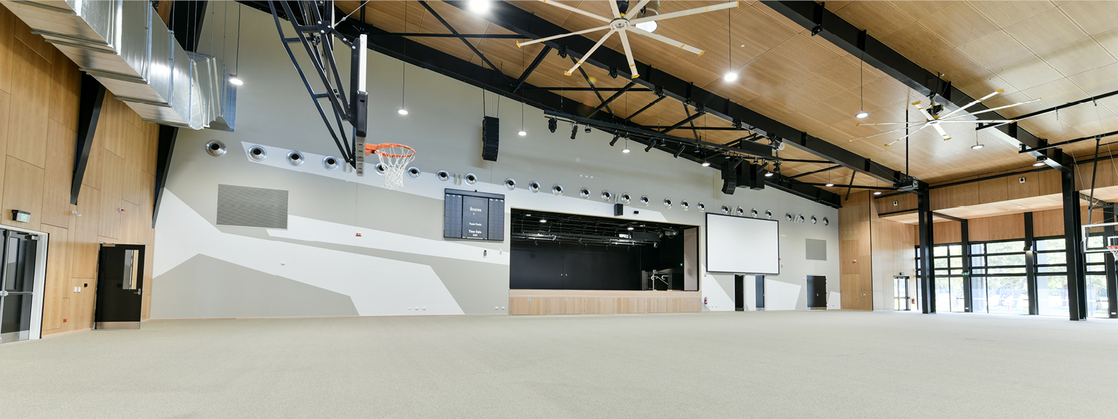 Multiplex exihition hall venue