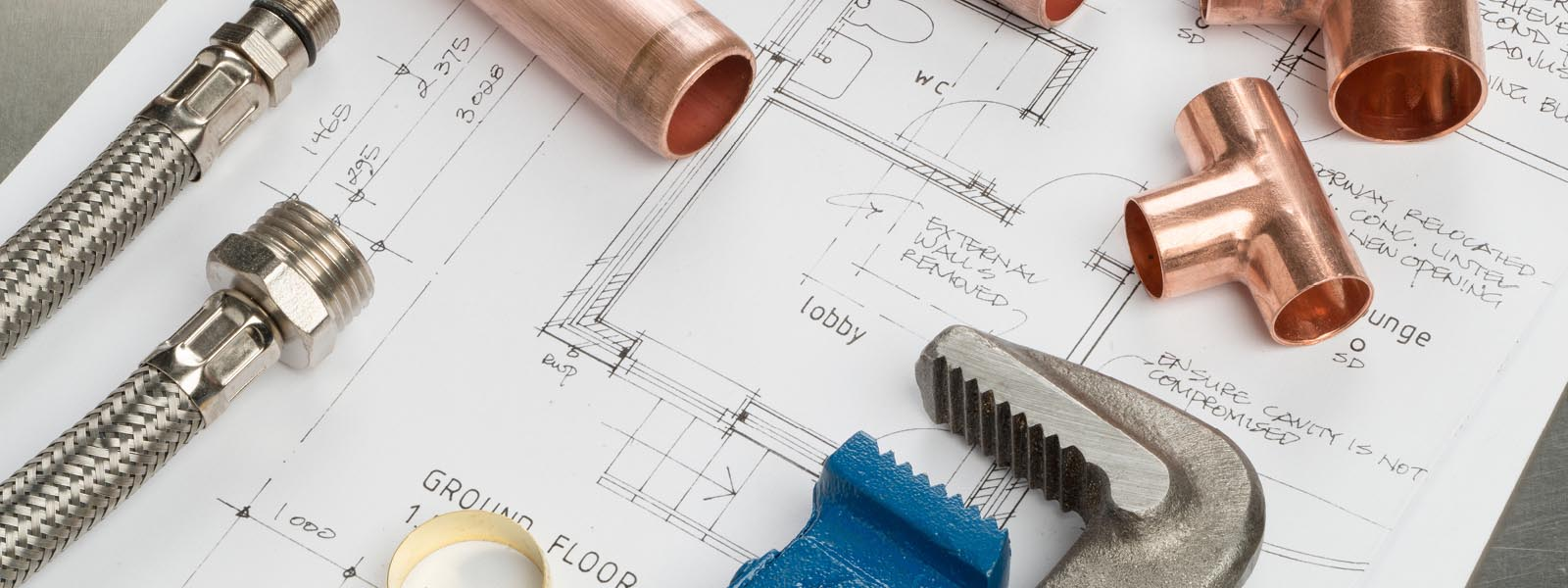 Plumbing plans and tools web